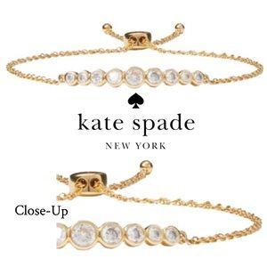 NEW Kate Spade Full-Circle Bezel Slider Bracelet